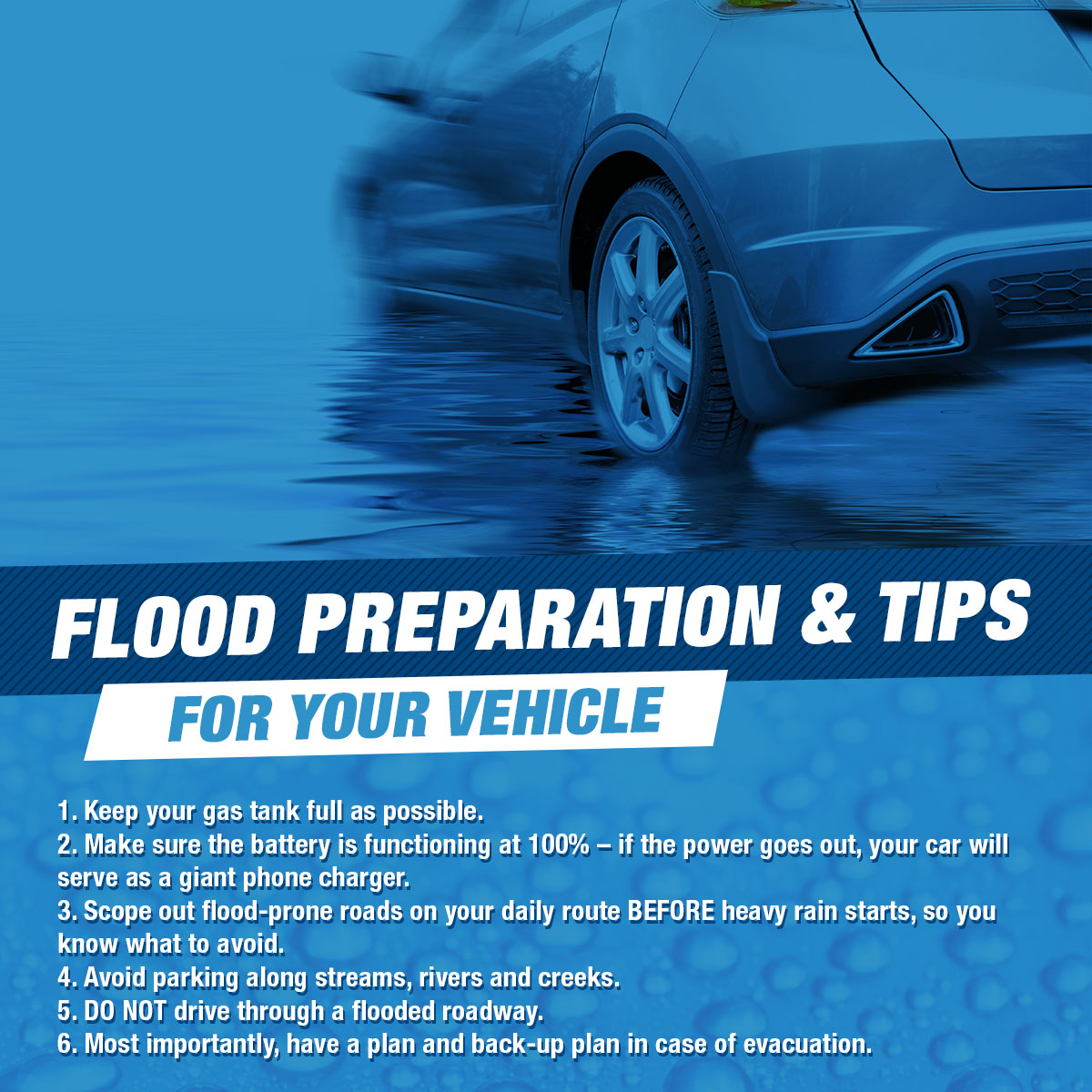 What Should I Do If My Car Gets Water Damage?