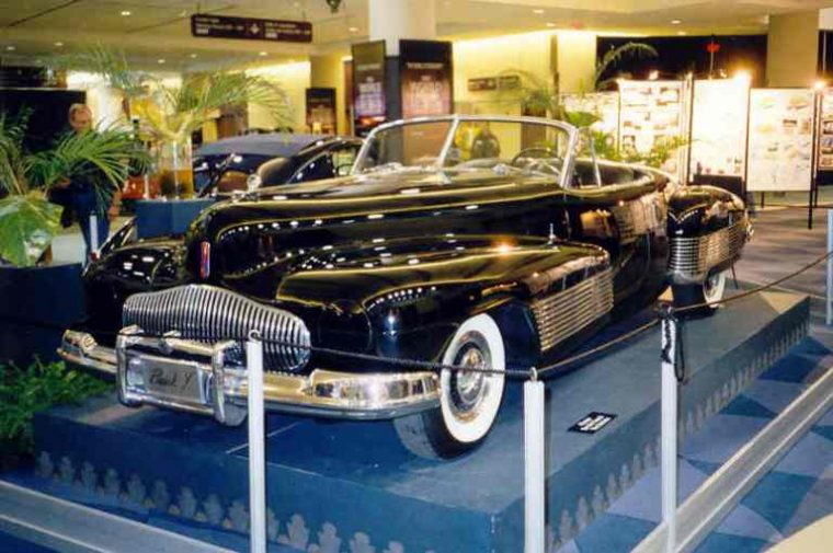 The 1938 Buick Y-Job Concept has become the 14th vehicle added to the National Historic Register