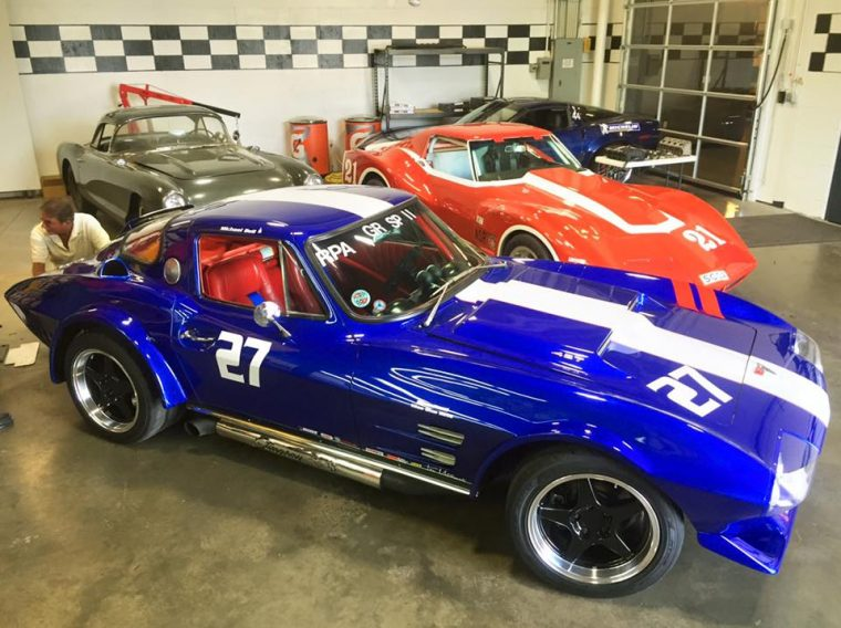 Corvette Museum new race cars
