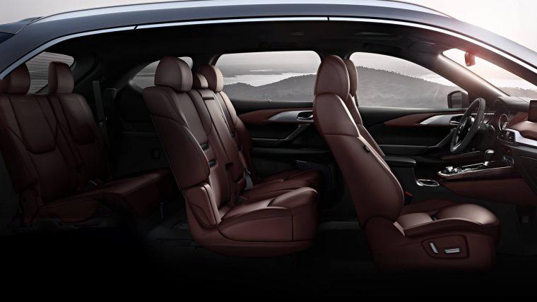 2016 CX-9 side interior