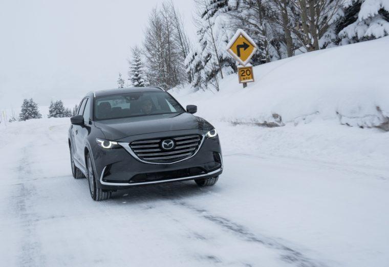 2016 CX-9 snow driving