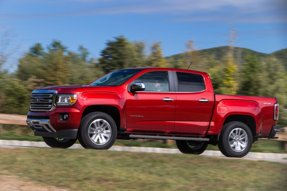 GMC Canyon Defends its Crown in 2016 Midsize Pickup Truck ...