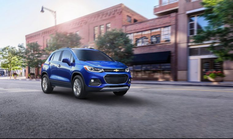 The refreshed 2017 Chevy Trax