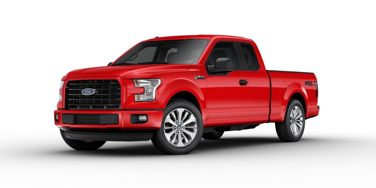 Ford Announces 2017 F-150 STX, Super Duty STX - The News Wheel