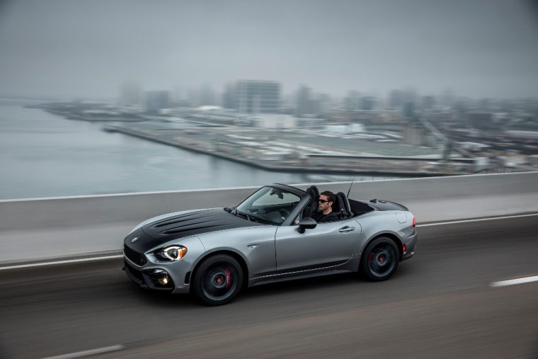 Fiat hopes the recently launched 2017 Abarth 124 Spider will be able to outsell the Mazda MX-5 Miata in Japan