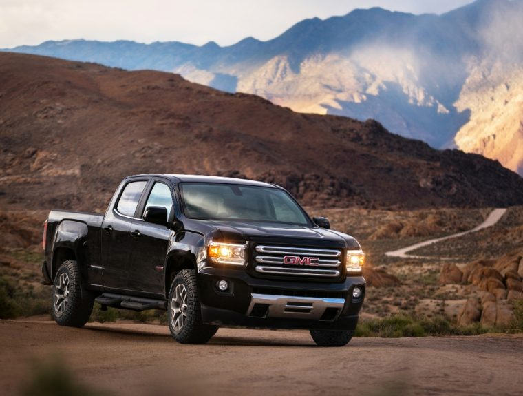 The 2017 Gmc Canyon Pickup Will Be Available With New Exterior Color Options A