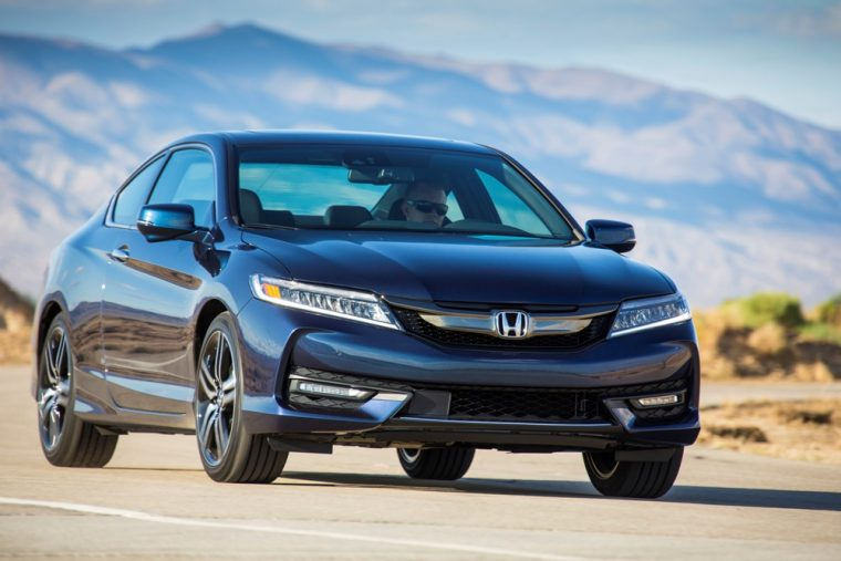 The 2017 Honda Accord Coupe Offers Choice Between A Four Cylinder And V6 Engine