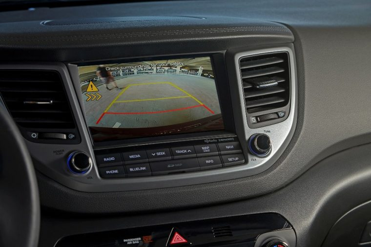 2017 Hyundai Tucson Overview rear view camera