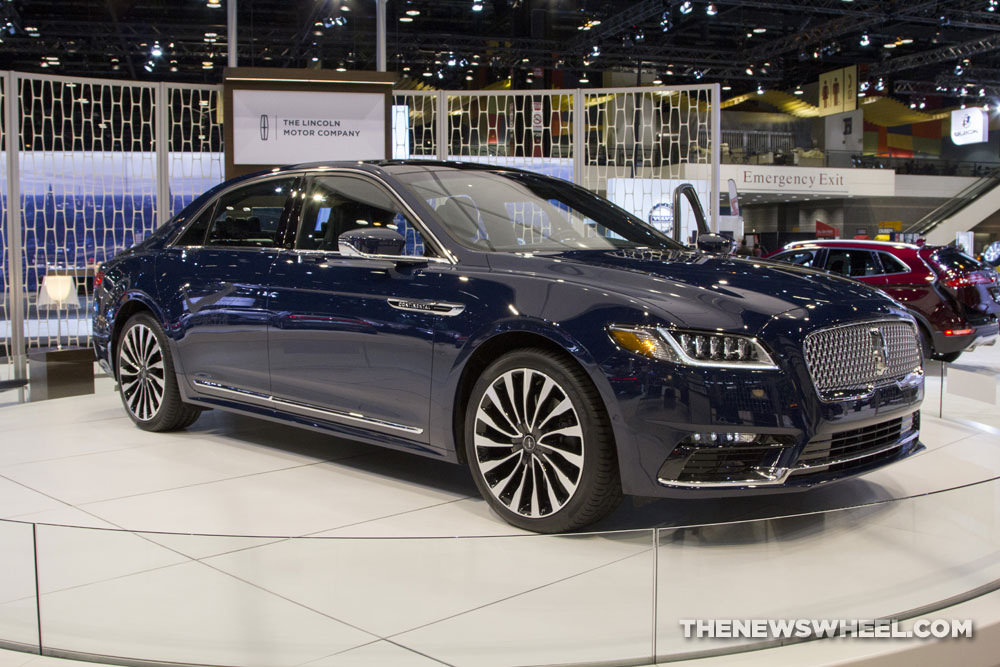 2017 lincoln continental overview the news wheel. Black Bedroom Furniture Sets. Home Design Ideas