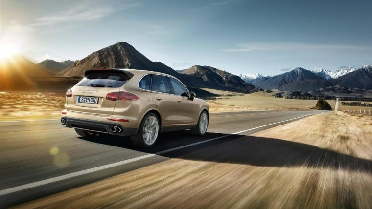 The Porsche Cayenne SUV has added two new trims and an updated infotainment system for the 2017 model year