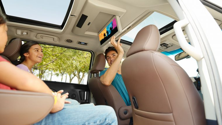 2017 Toyota Sienna Interior
