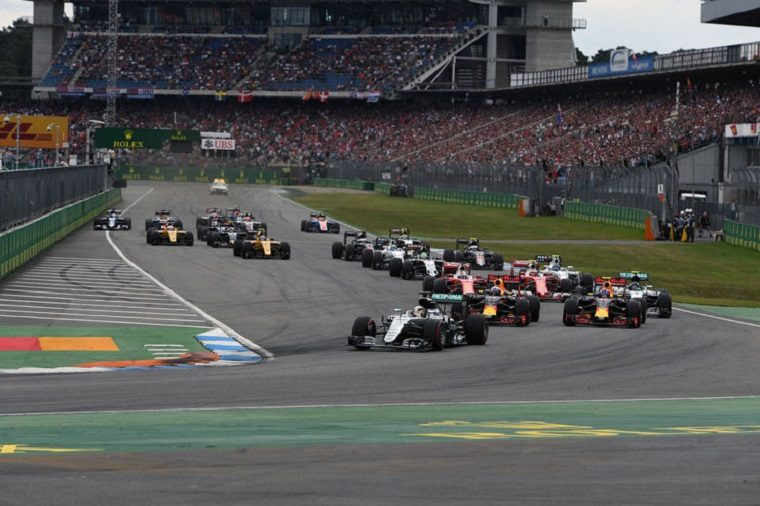 2016 German Grand Prix - Race Start