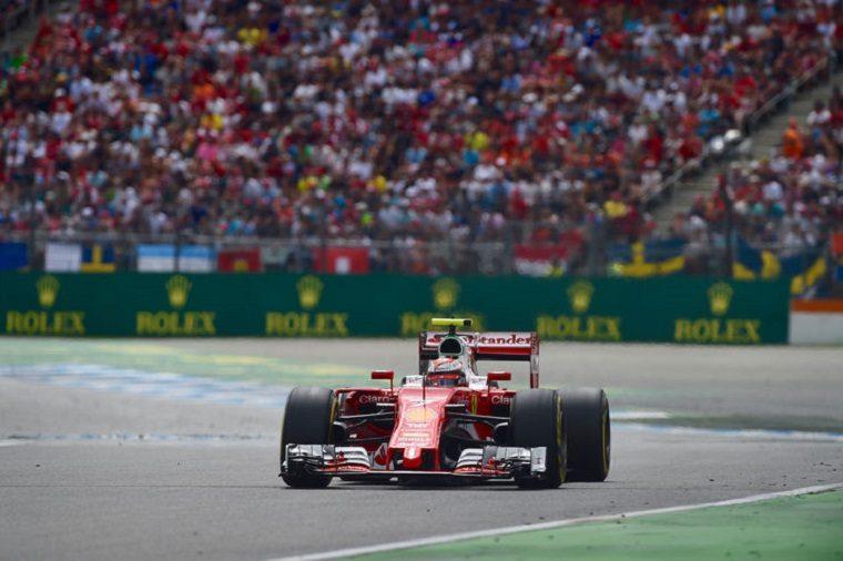 2016 German Grand Prix - Kimi Raikkonen Alone
