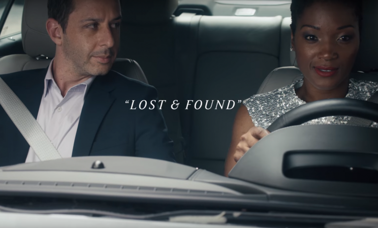 2017 Cadillac ATS commercial Lost & Found features a woman trying to find her lost diamond earring
