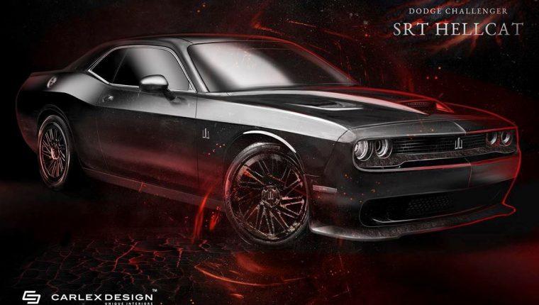 Carlex Design Dodge Challenger Hellcat