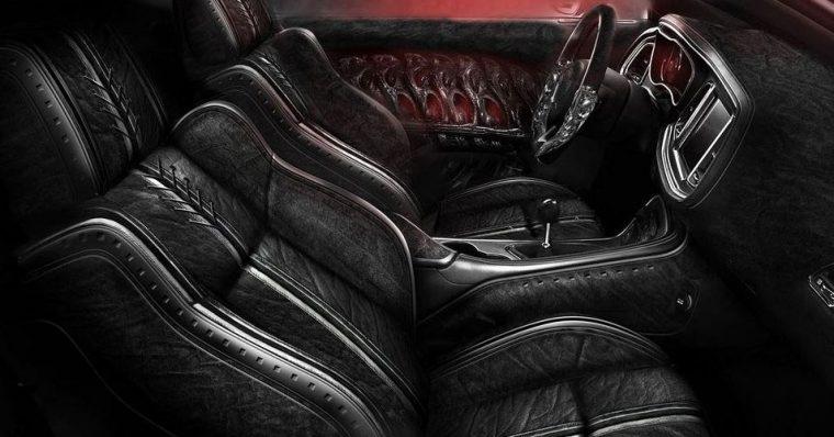 Carlex Design Dodge Challenger Hellcat Interior
