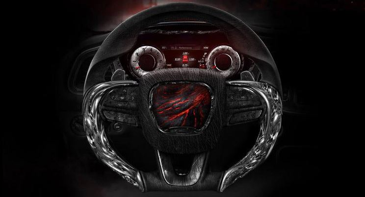 Carlex Design Dodge Challenger Hellcat Steering Wheel