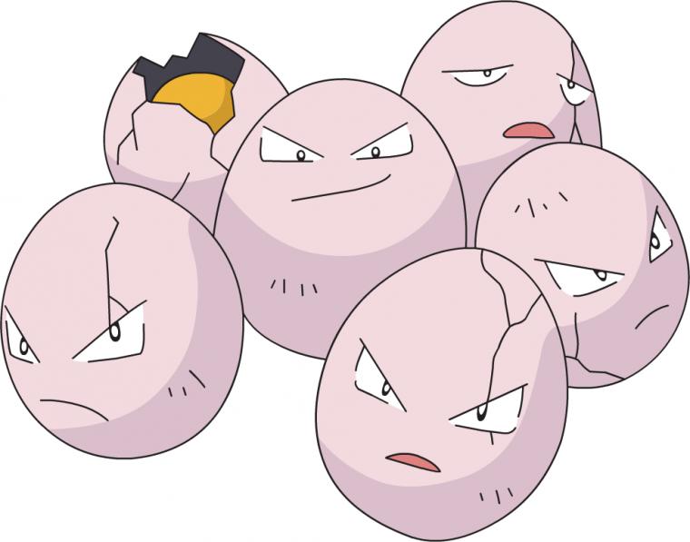 Exeggcute Pokemon
