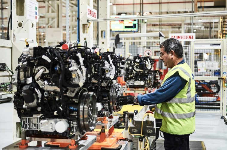 diesel engines for the 2016 Ford Transit being built at Dagenham Diesel Center