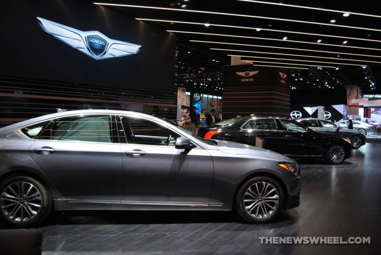 Genesis Motors G80 G90 at Chicago Auto Show