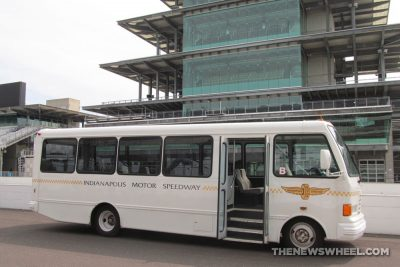 Indianapolis Motor Speedway Hall of Fame Museum tour bus