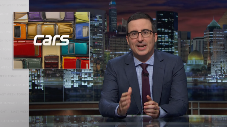 Last Week Tonight with John Oliver Cars