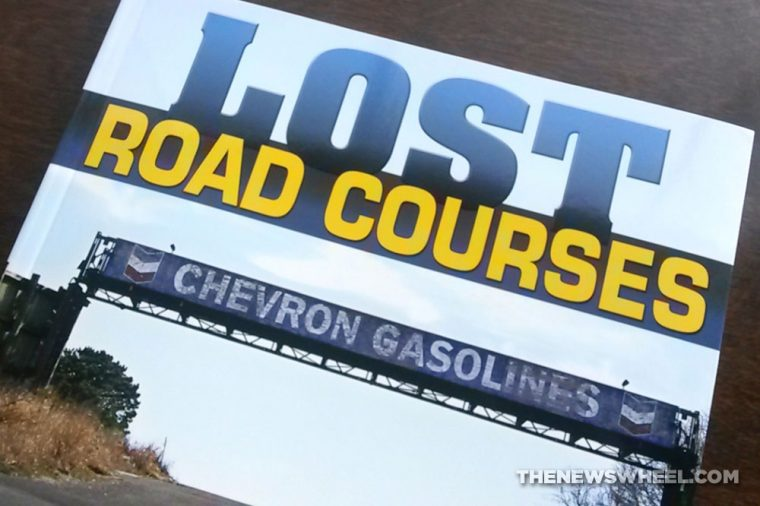 Lost Road Courses book review Martin Rudow CarTech cover
