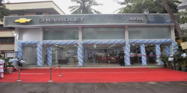 New Chevrolet dealership opens in Mumbai India