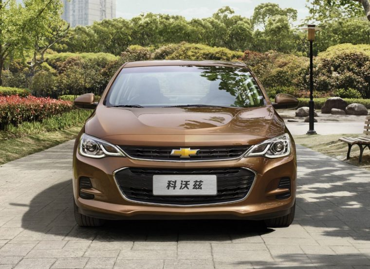 New Chevy Cavalier for Chinese market
