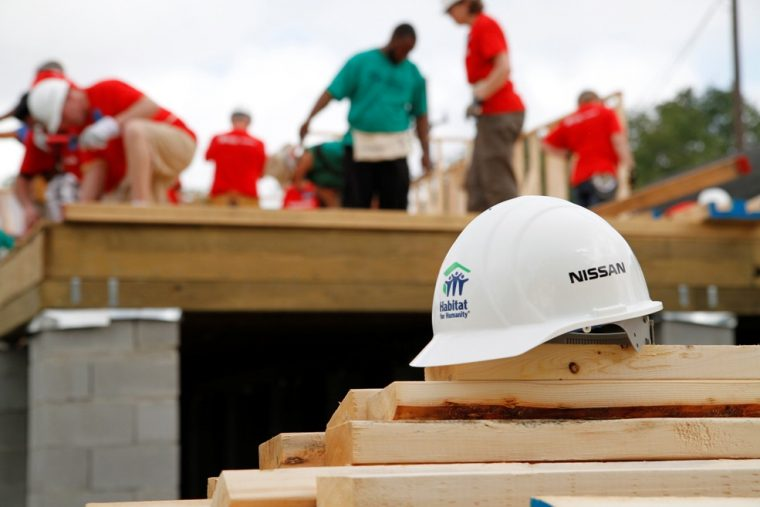 Nissan and Habitat for Humanity
