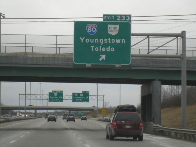 Ohio Turnpike Driverless Cars Testing