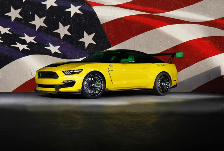 Ole Yeller Ford Shelby Mustang EAA auction