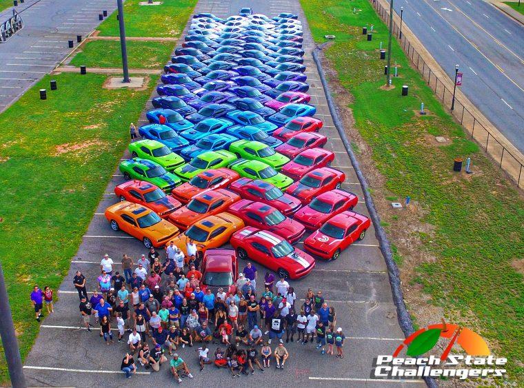 Peach State Challengers Rainbow