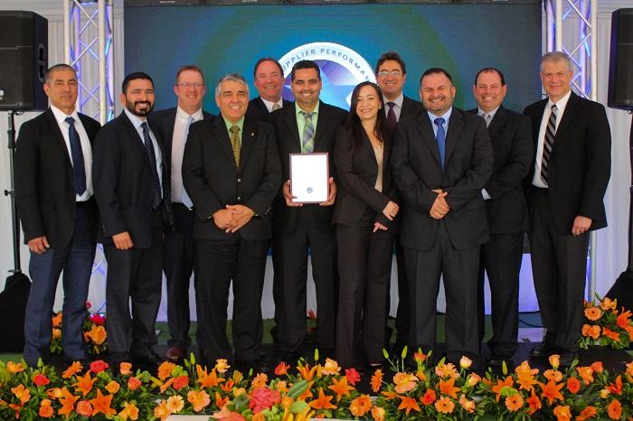 General Motors de México reconoce a proveedores establecidos en