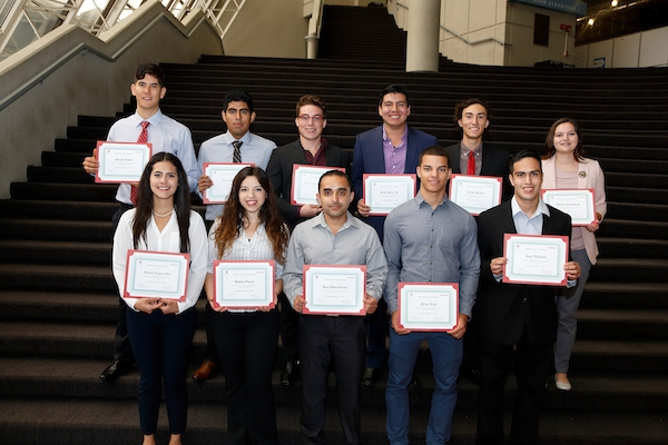 Honda and Hispanic Scholarship Fund Honor Outstanding Latino Students With Scholarships and Internship Opportunities