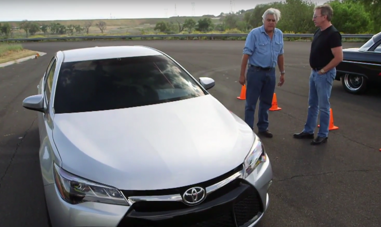 In a new clip from Jay Leno's Garage, Jay Leno and Tim Allen drag race sleepers, including Jay's 850 horsepower Toyota Camry