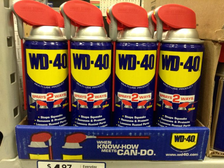 WD-40 Remove Bugs from Windshield