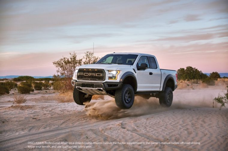 2017 Ford F-150 Raptor shocks