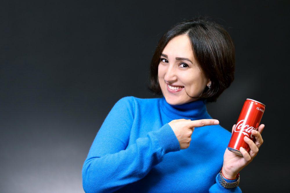 coca-cola can bottle model soda pop drink