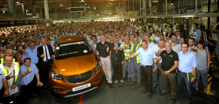 First Opel Mokka X produced in Zaragoza, Spain