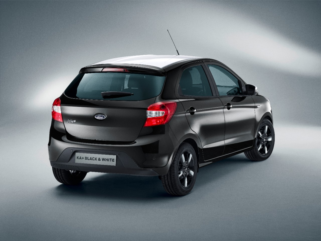 ford details ka announces black and white editions the news wheel. Black Bedroom Furniture Sets. Home Design Ideas