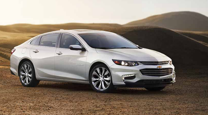 2017 Chevrolet Malibu Front End