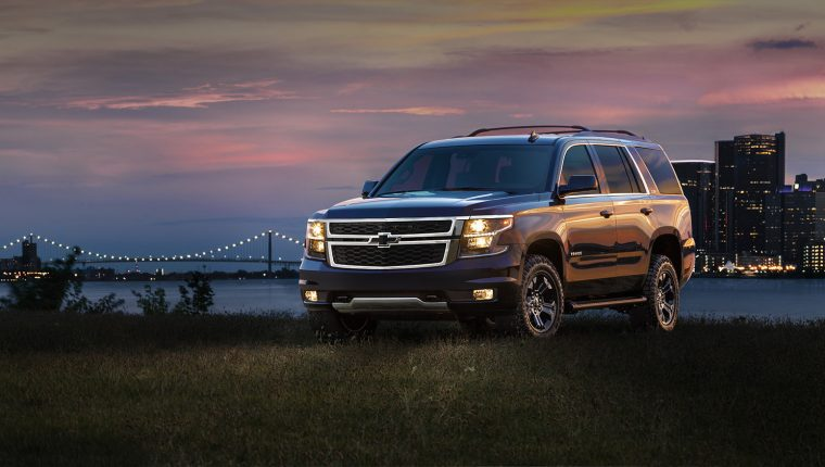 Today Chevrolet announced a Midnight Edition of the 2017 Tahoe and Suburban full-size SUVs