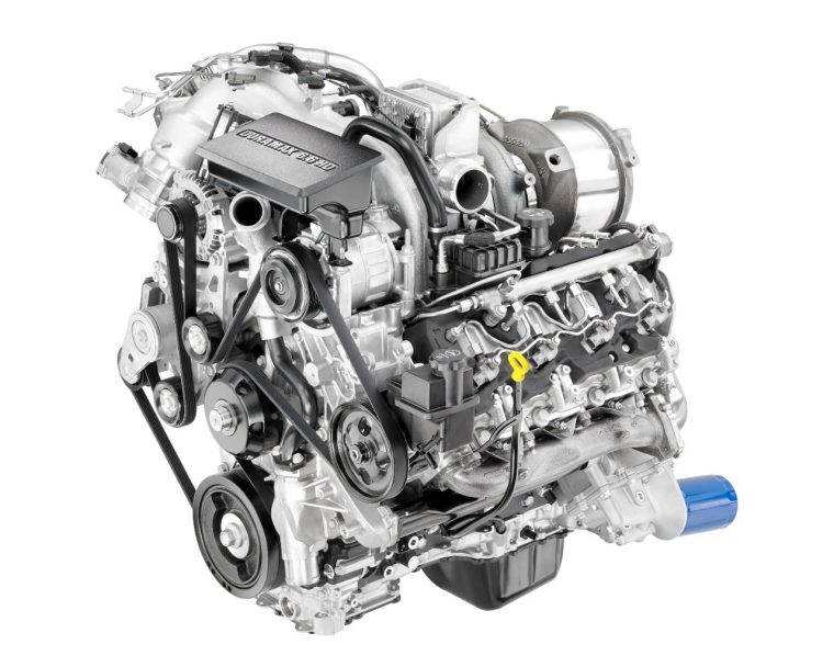 2017 Duramax 6.6-liter V8 Turbo-Diesel engine