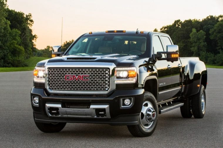 The 2017 GMC Sierra 3500HD tops 2020 U.S. Resale Value Awards