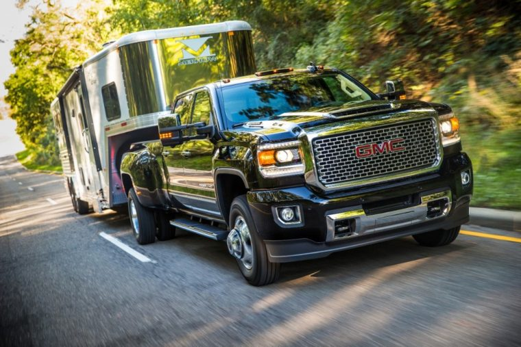 The 2017 GMC Sierra HD will be even more powerful than last year's model