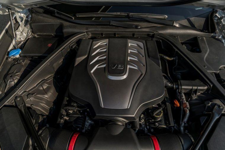 2017 Genesis G80 Overview luxury car V8 engine