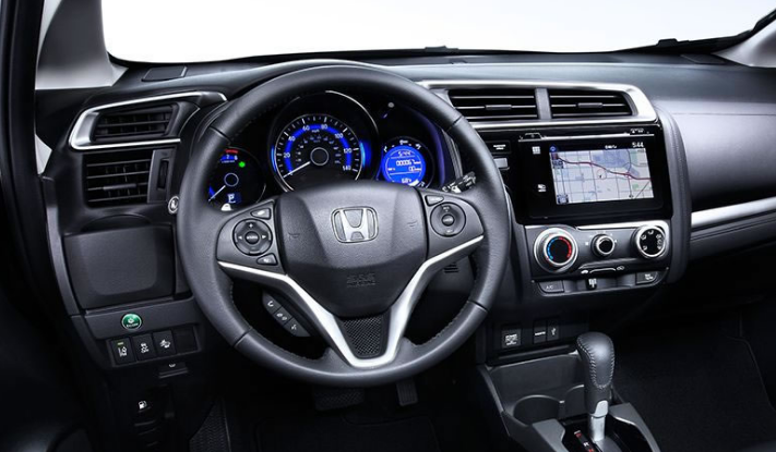 2017 Honda Fit Dashboard