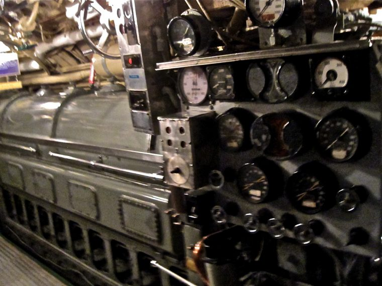 Diesel Engine on USS Requin