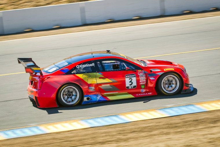 Driver Johnny O'Connell led the Cadillac Racing Team to a pair of wins in Sonoma